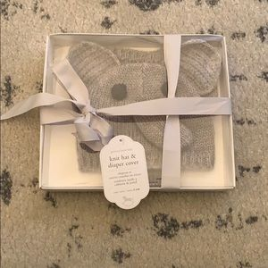 Pottery Barn Kids Elephant Hat and Diaper Cover